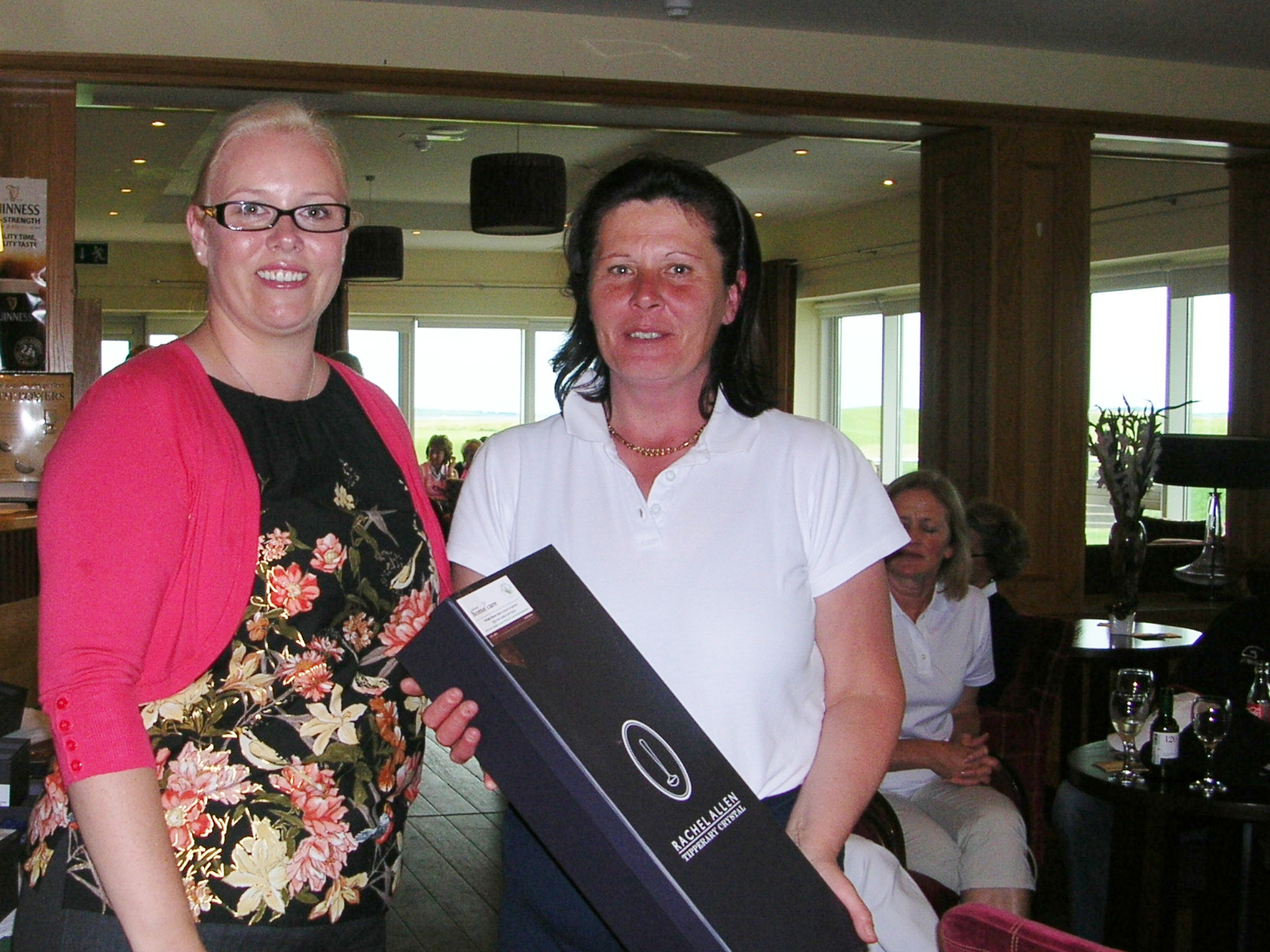 Ladies Intermediate Cup Finalists 2012-Brenda Kelly