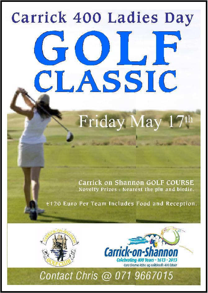 Carrick 400 Ladies Golf Classic May 17th