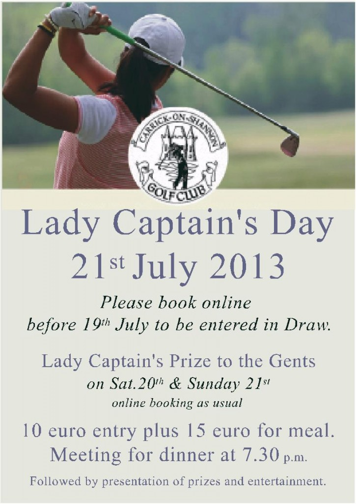 Lady Captain's Day 2013
