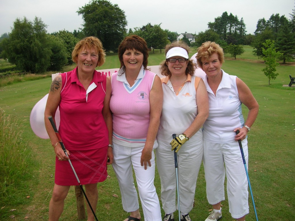 Carmel Stritch, Dolores Mulvey, Siobhan Talbot and Helen Martin