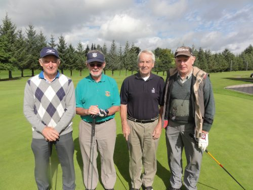 L/R Tom Gannon Michael Kennedy Padraig Mulligan & PJ Greenan