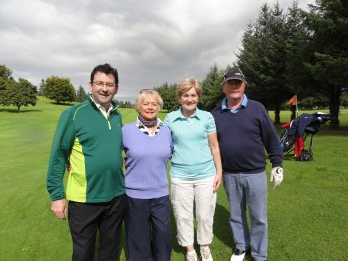 L/R Peter & Molly Daly Ann Cox & Barry Donnellan
