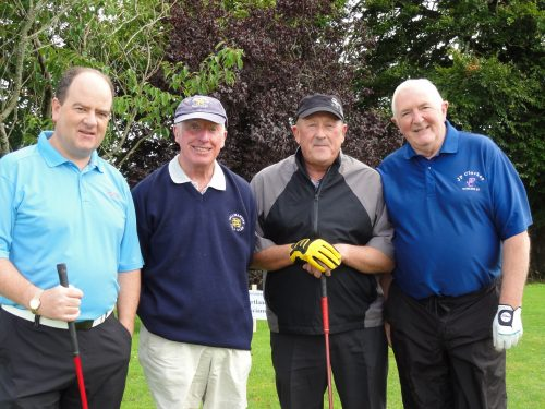 L/R Enda McGloin Vincent McMorrow Gerry Gilhaney Pete O'Rourke