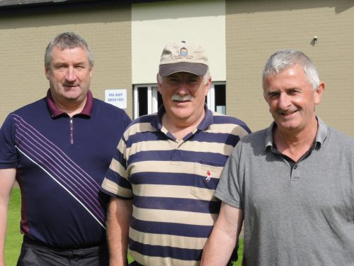 L/R Third place team Michael Keville Pat Gannon & Gerry Emmett missing from photo Tom Gallagher