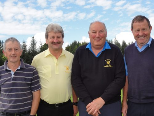 Blacklion Team Captained by Mel McLoughlin (3rd from left) other Members are Jimmy Donovan Sean Planagan & Patsy McCorry