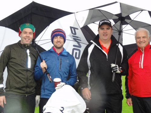 L/R Joe Hussey Darragh Loftus Paul O'Brien & Colm Loftus who were second in Classic with 53 points