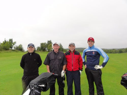 L/R Ciaran Smith Noel Sharkey John McHale & Jack Sharkey