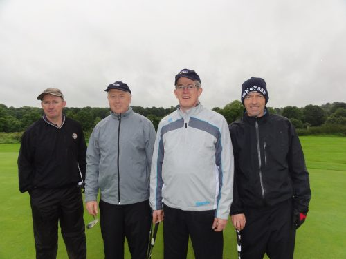 L/R David Wynne Paddy Murray Philip Martin & Fergus O'Beirne