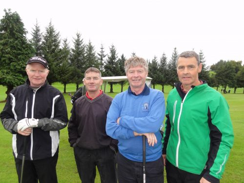 L/R Jim King Adrian Beirne Pat King & Andy Connellan