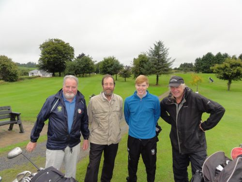 R/L Tom Lavin Tom & Brendan Martin & Chris Hill
