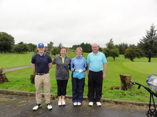 L/R Aodhan Hayes Hilary & Ann Collins Mick Hayes