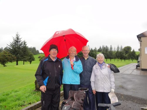 L/R Peter & Esther Feely Greg & Mary O'Rourke
