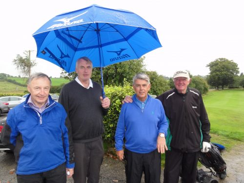 Winners of The Visitors Prize with 50 pts Conor MacDonaugh Henry Horjan John MacDonagh & Donal O'Donoghue