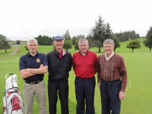 Ken Moran 2nd frm left with Damien McDermott Brendan O'Donnell & Nellie Gallagher