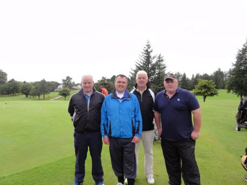 L/R Mark McDermott Alan Ffrench Albert Hogg & Mickey Daly