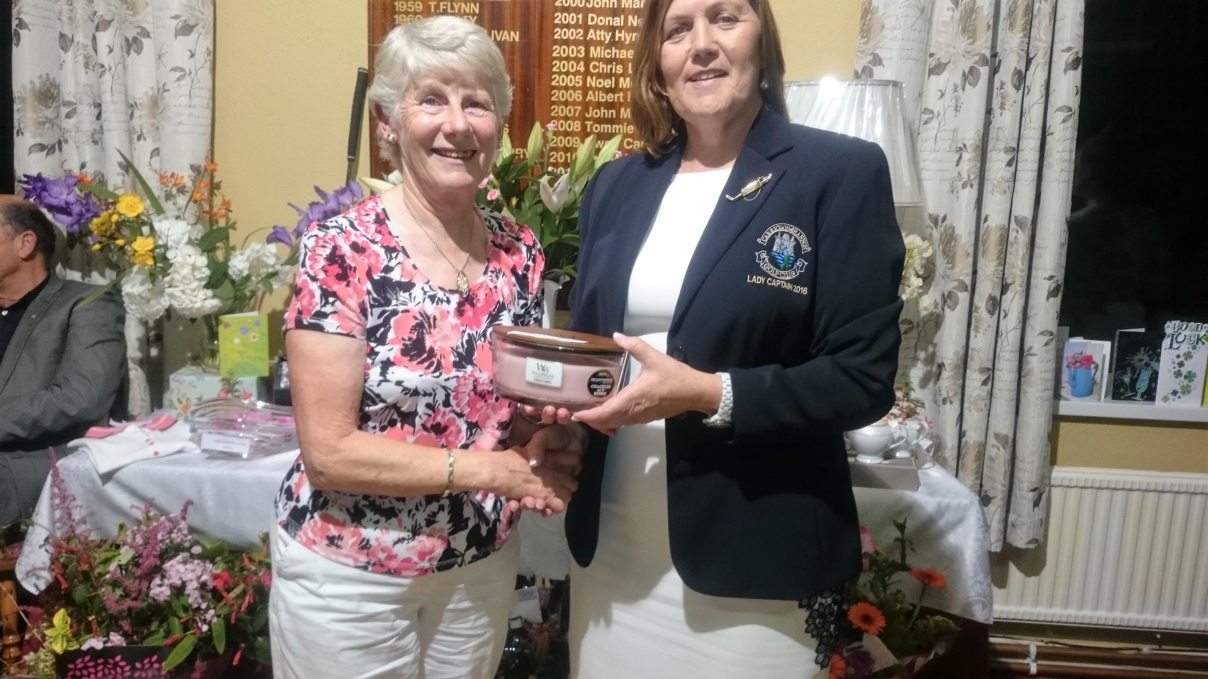 LADY CAPTAINS DAY: Mary O'Rourke(Past Captain's), Lady Captain Noeleen Moffatt