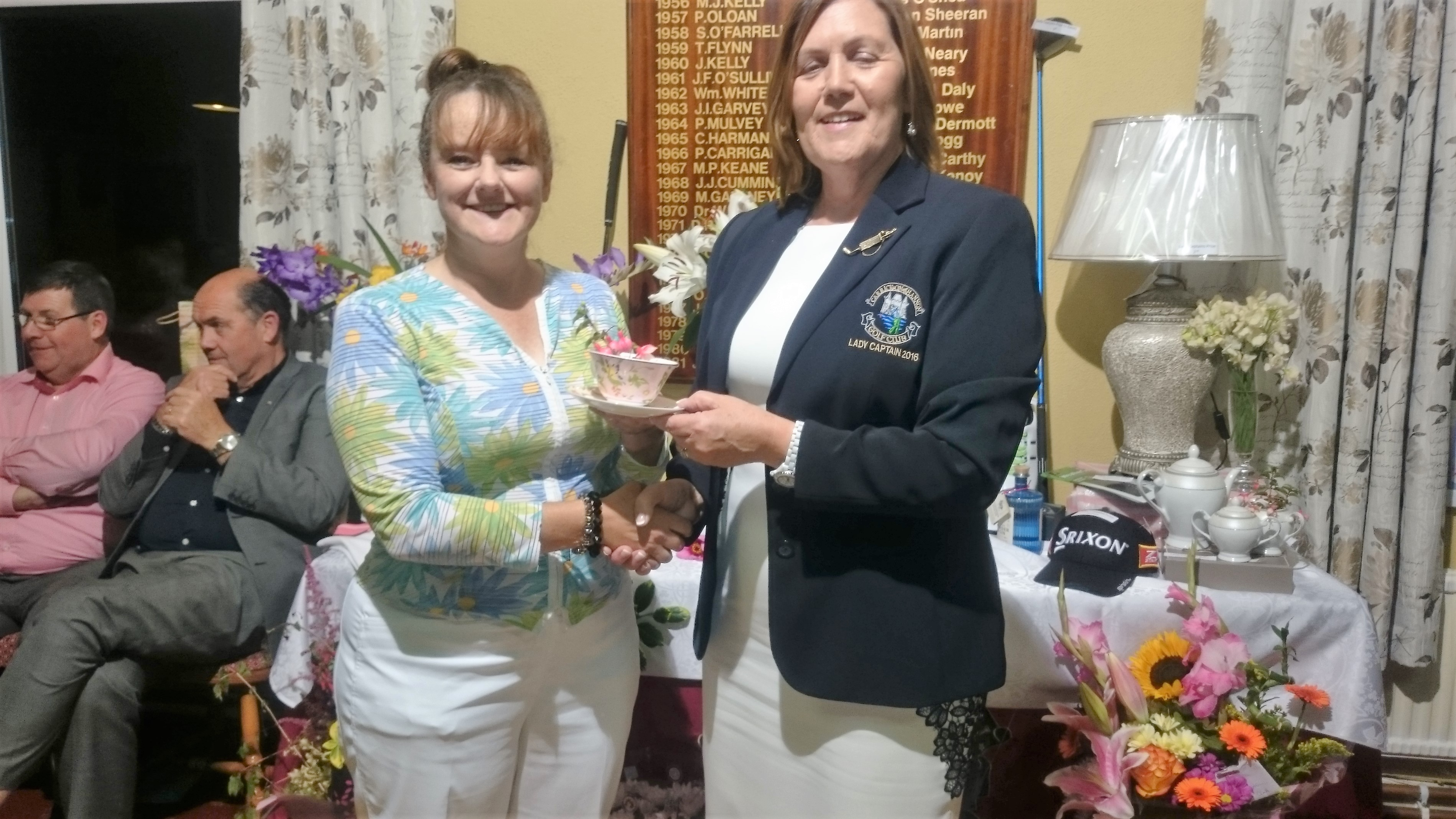 LADY CAPTAINS DAY: Elizabeth Muldowney(Cat 29-36 ), Lady Captain Noeleen Moffatt