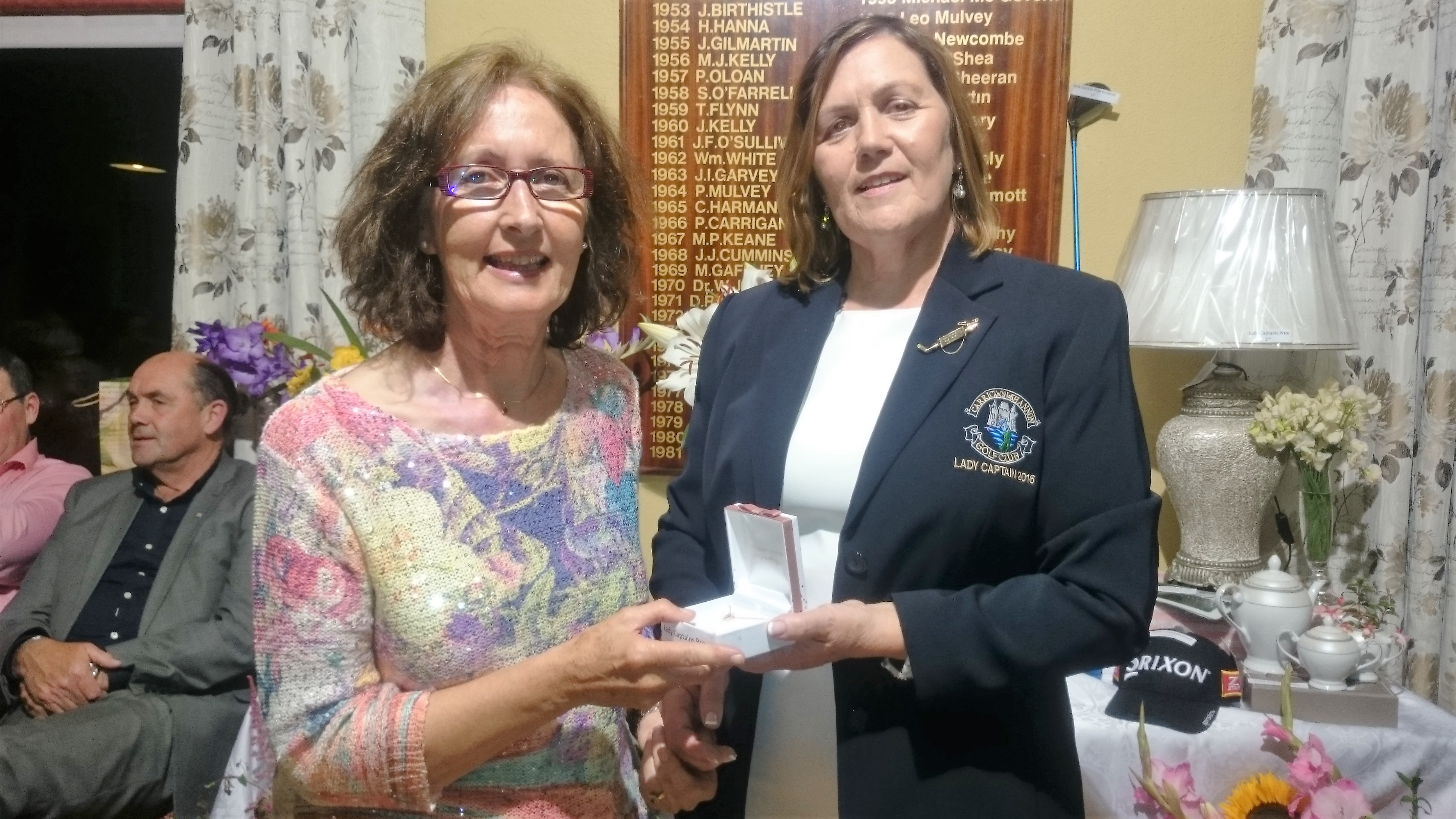 LADY CAPTAINS DAY: Mary Monahan(Third 9), Lady Captain Noeleen Moffatt