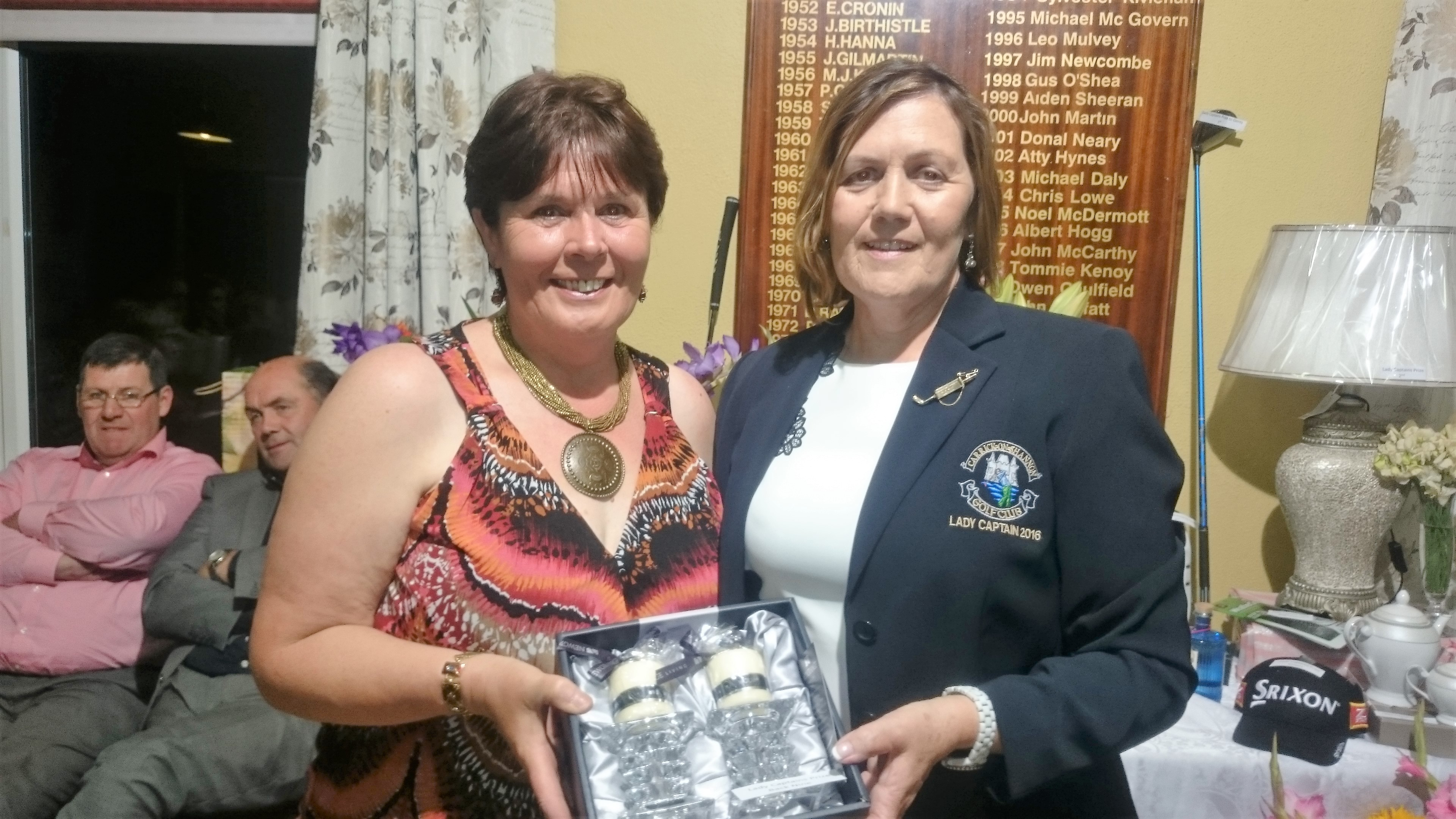 LADY CAPTAINS DAY: Brenda Kelly(Back 9), Lady Captain Noeleen Moffatt