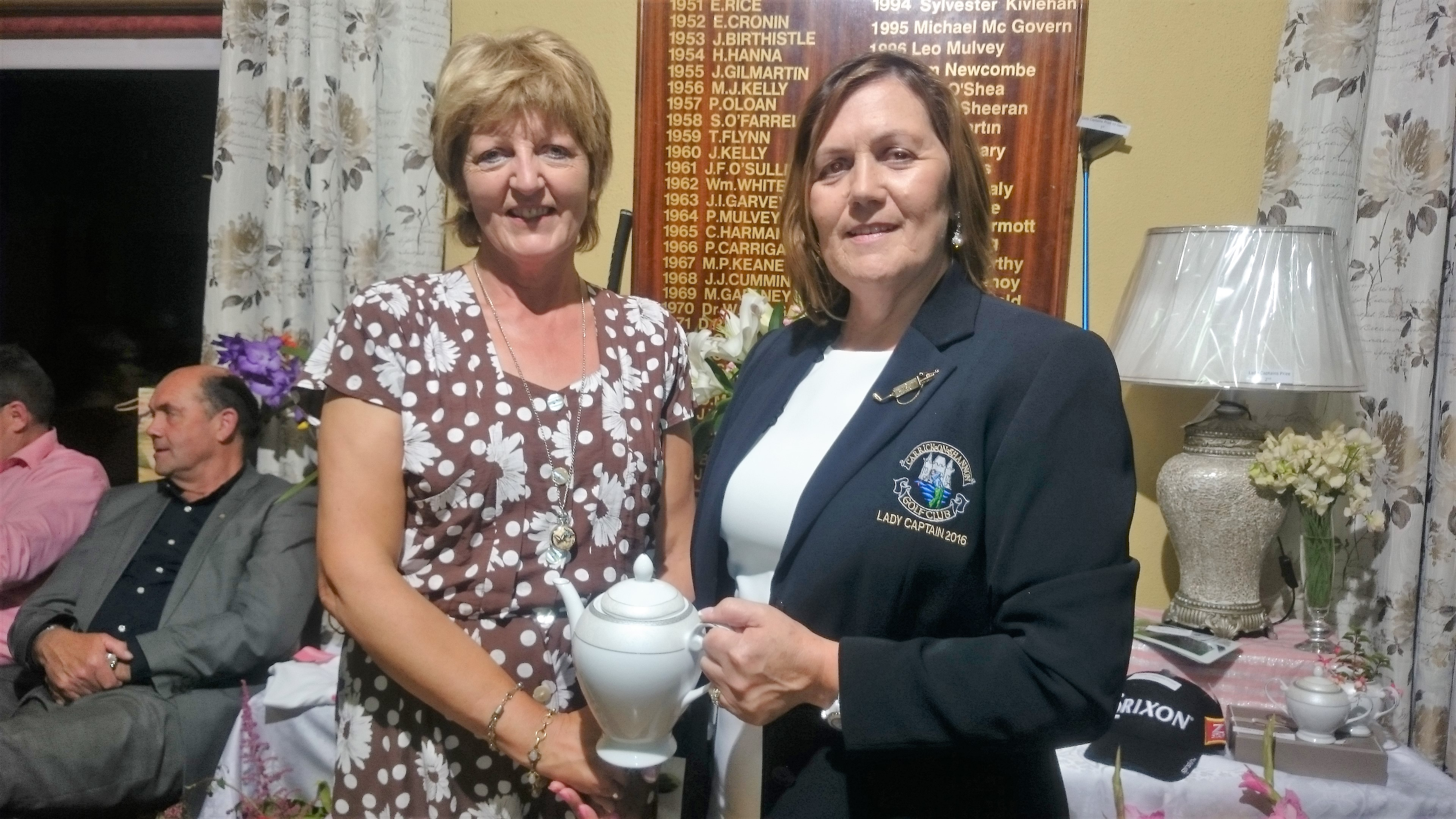 LADY CAPTAINS DAY: Anna Smith(Third), Lady Captain Noeleen Moffatt