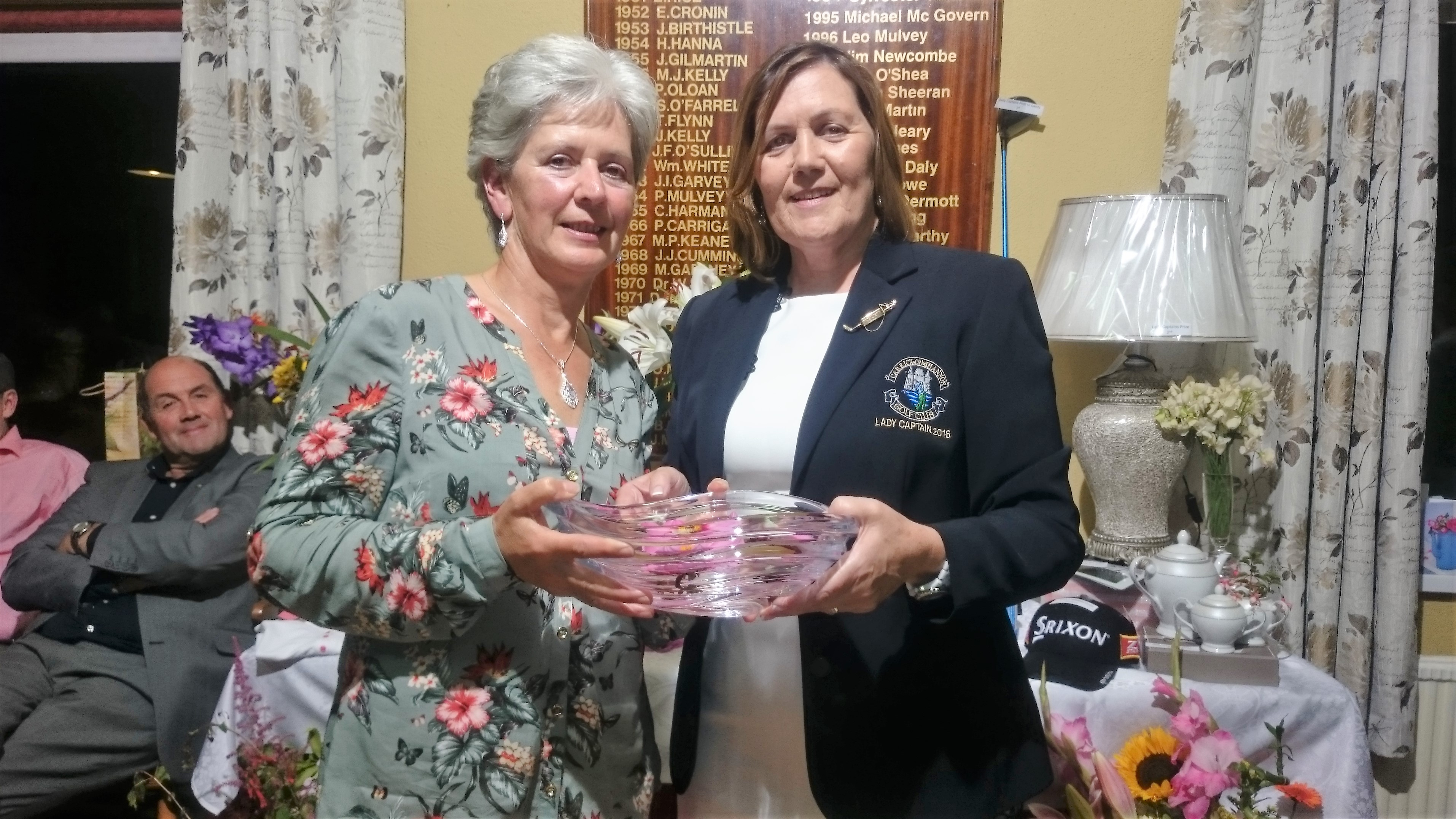 LADY CAPTAINS DAY: Phil McWeeney(Gross), Lady Captain Noeleen Moffatt