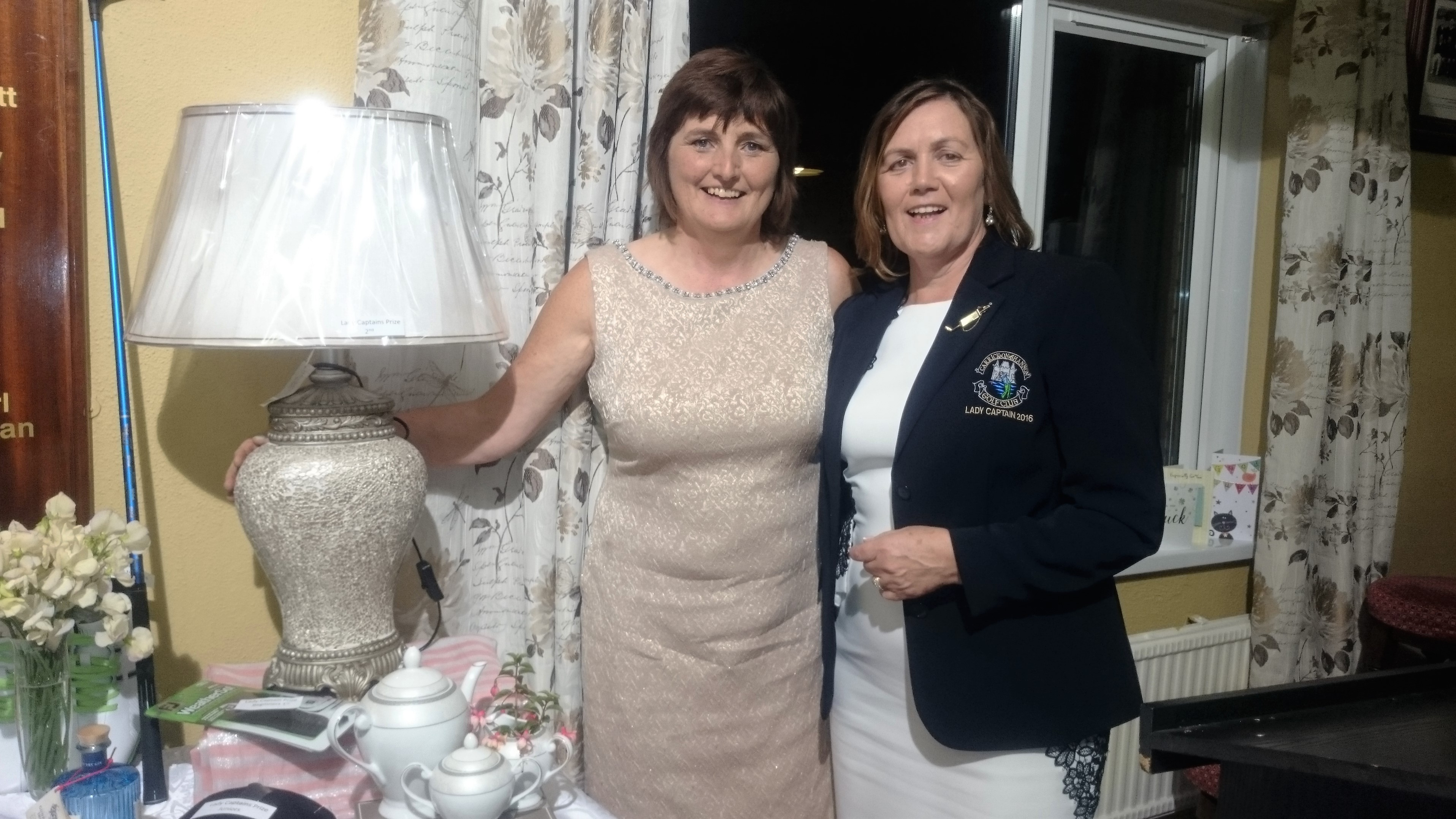 LADY CAPTAINS DAY: Dolores Mulvey(Second), Lady Captain Noeleen Moffatt