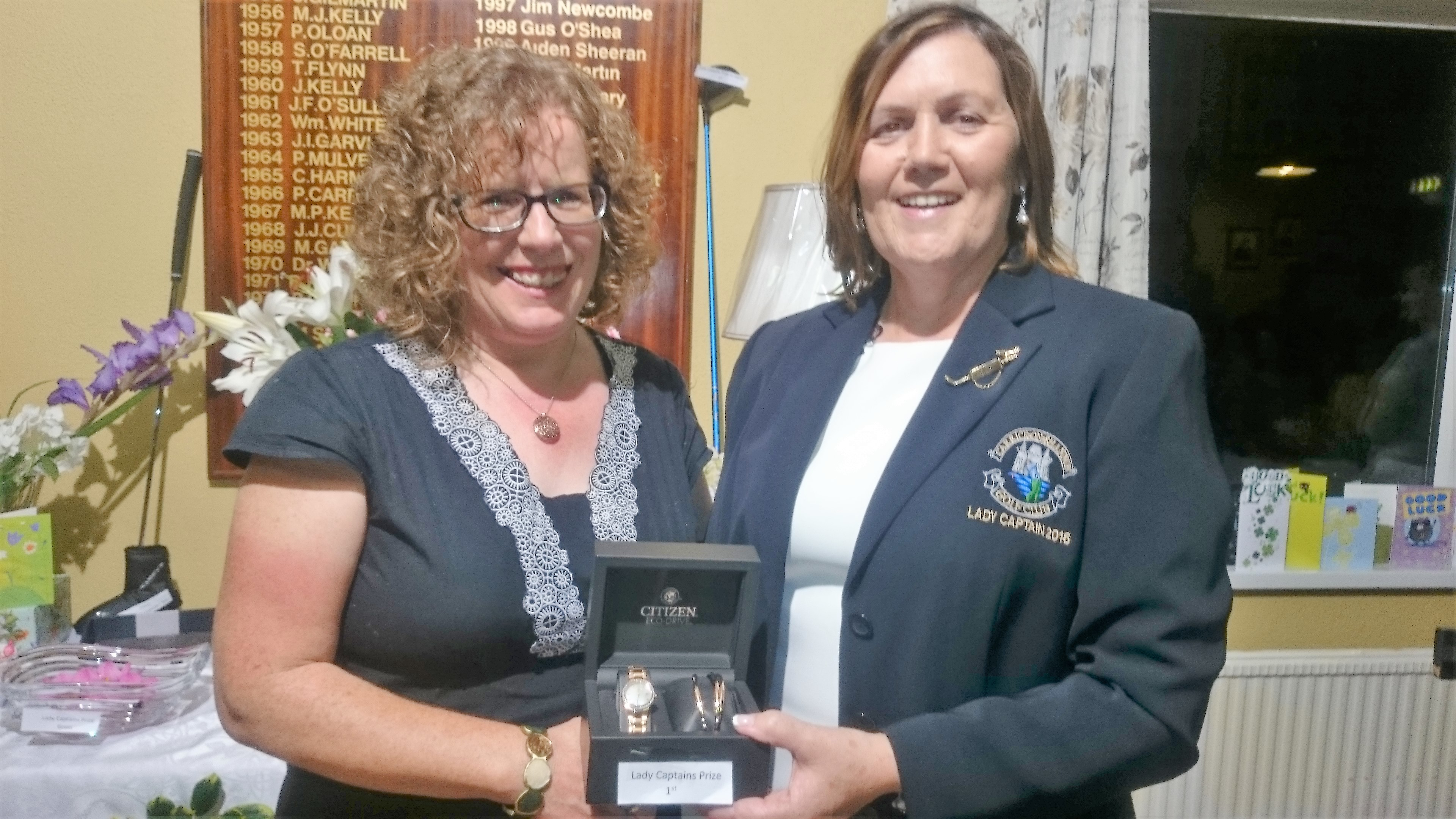 LADY CAPTAINS DAY: Siobhan Talbot(WINNER), Lady Captain Noeleen Moffatt