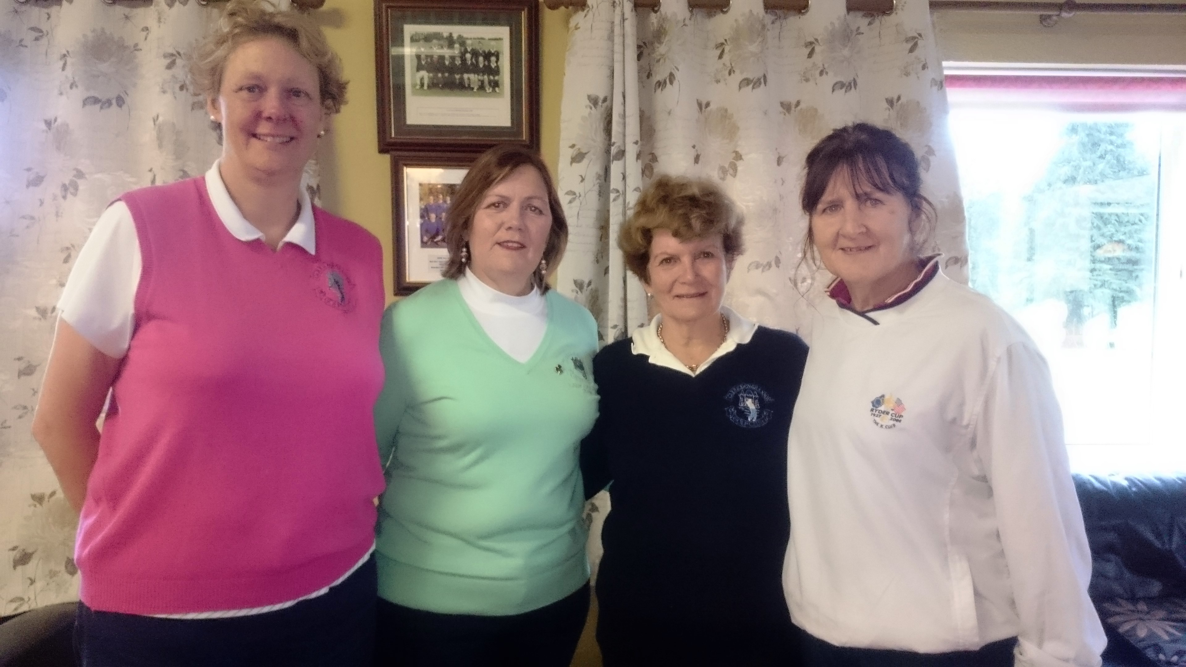 ARIGNA FUELS: ANN KEENAN(3rd), LADY CAPTAIN NOLEEN MOFFATT, HELEN MARTIN(WINNER), PHIL EMMETT(SECOND), MISSING-GER FARRY(GROSS)